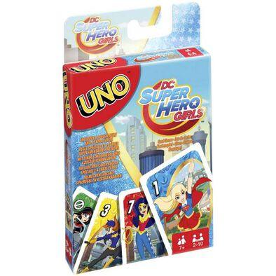 Uno Licensed - Dc Super Hero Girls