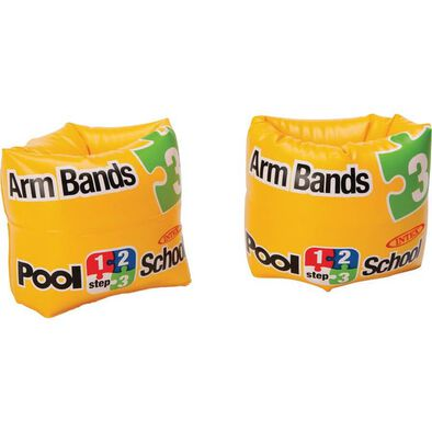 Intex Roll-Up Arm Bands Pool School Step 3