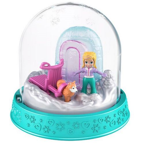 Polly Pocket Impulse Winter Adventure Snow Globe - Assorted