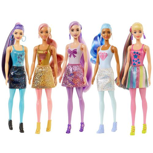 Barbie Color Reveal Doll with 7 Surprises - Assorted