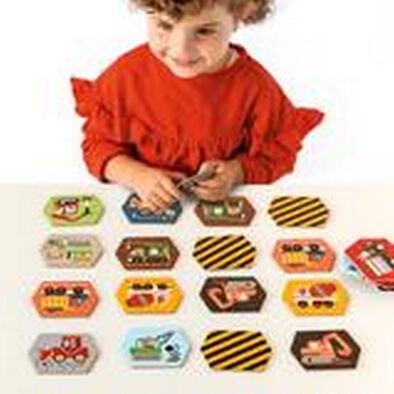 Petit Collage Memory Game Construction