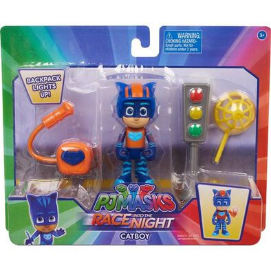 PJ Masks Race Into Night Figure Set - Assorted
