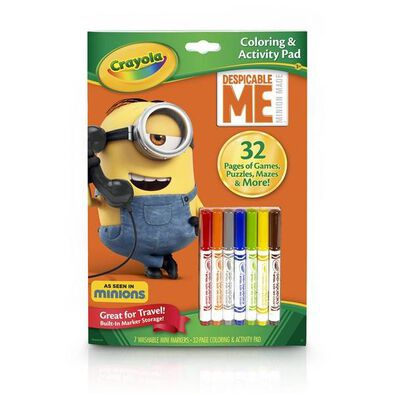 Crayola Color & Activity Book Dm 12Pk