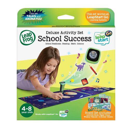 LeapFrog LeapStart Go Deluxe Activity Set - School Success