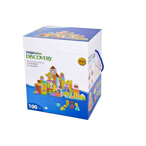 Universe Of Imagination Creations 100Pcs Multi-Activity Blocks