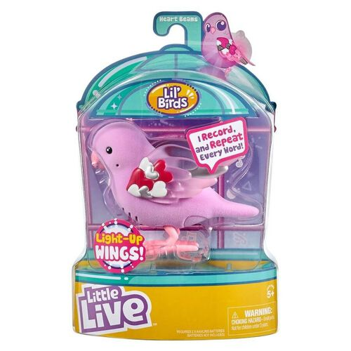 Little Live Pets Bird S8 - Heart Beams
