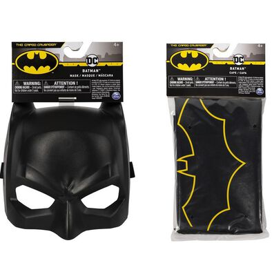 Batman Classic Mask or Cape Assorted