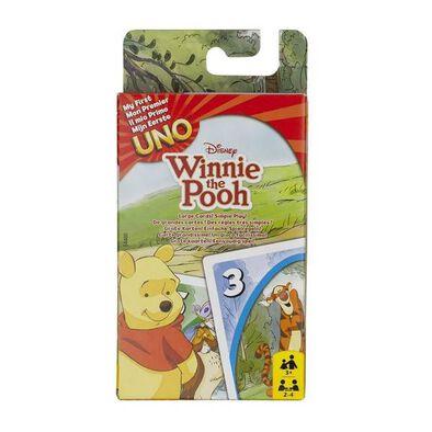 Mattel Games Uno Jr Pooh