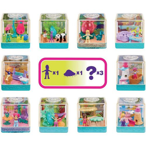 Polly Pocket Surprise Sand Secrets Diorama - Assorted