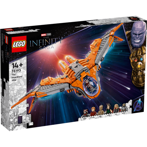 LEGO Super Heroes The Guardians' Ship 76193