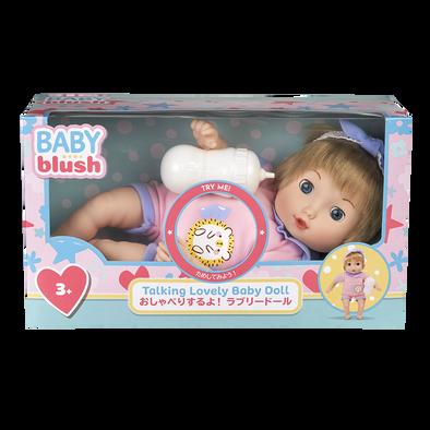 Baby Blush Talking Lovely Baby Doll