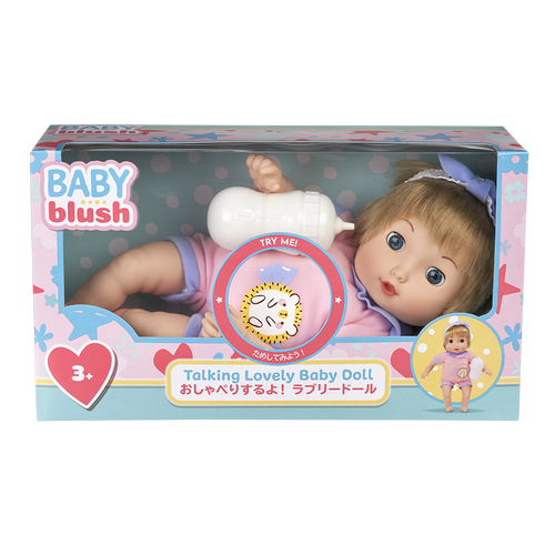 Baby Blush Talking Lovely Baby Doll