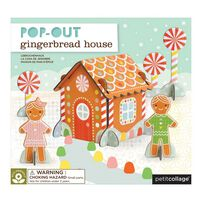 Petit Collage Pop Out Gingerbread House
