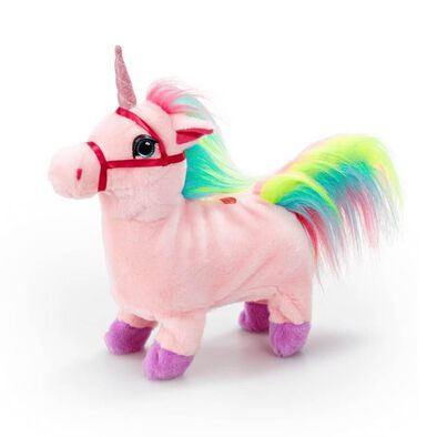 Pitter Patter Pets Walk Along Unicorn (Pink)