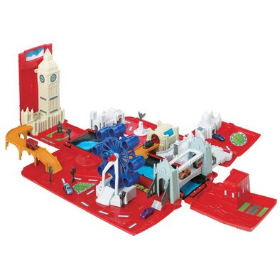 Fast Lane London Bus Playset