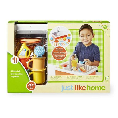Just Like Home Kitchen Sink Set