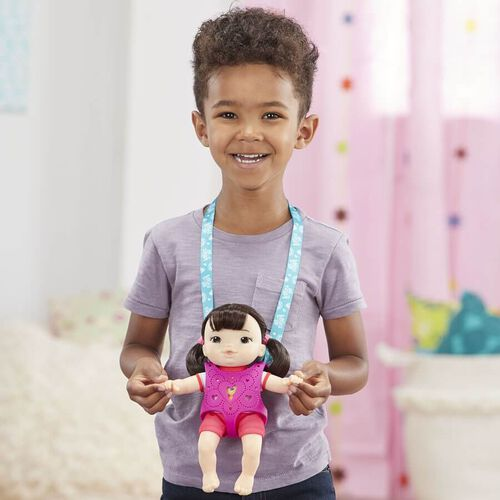Baby Alive Littles Carry'n Go Squad Girl (Black)