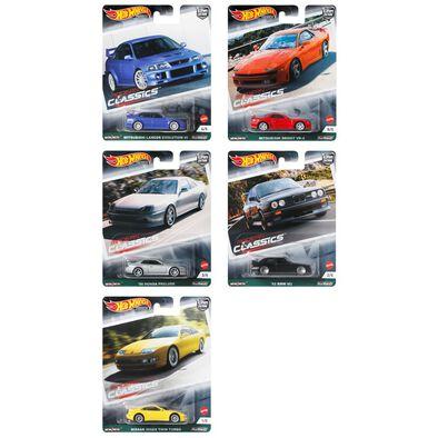 Hot Wheels Car Culture Dash G Set of 10