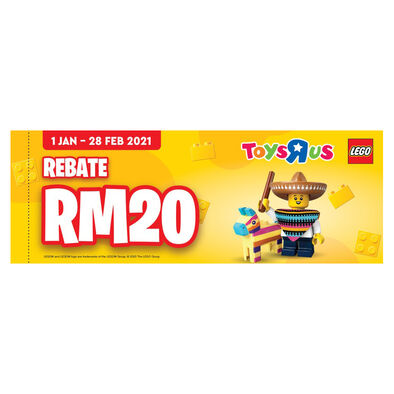 LEGO Instant Rebate Voucher