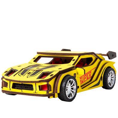 Robotime DIY Movable Sports Car