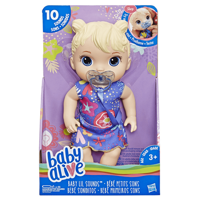 Baby Alive Sweet Tears Baby Blonde