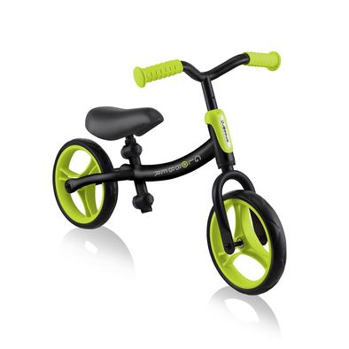 Globber Go Bike Black Lime Green Toddler Balance Bike