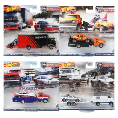 Hot Wheels Team Transport Dash M 2021 Mix 1 Set of 4 Pieces