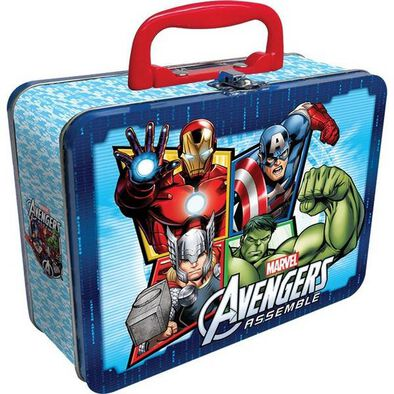 Cardinal Avengers Puzzle In Tin With Handle