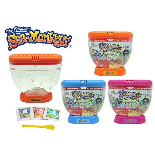 The Original Sea Monkeys Ocean Volcano - Assorted