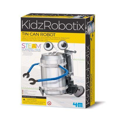 4M KidzRobotix Tin Can Robot