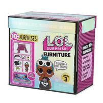 L.O.L. Surprise! Furniture Sleepover with Sleepy Bones & 10+ Surprises