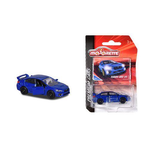 Majorette Subaru Wrx Sti Blue