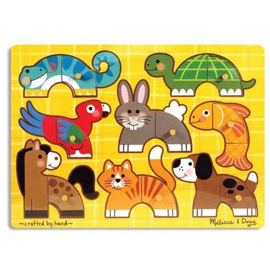 Melissa and Doug -Mix and Match Puzzle - Assorted
