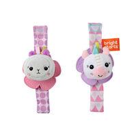 Bright Stars Wrist Pals Toy - Unicorn & Llama