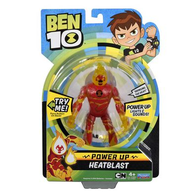 Ben 10 Power Up Heatblast W/ Int'L Ic In ( 76600Intz-08 )