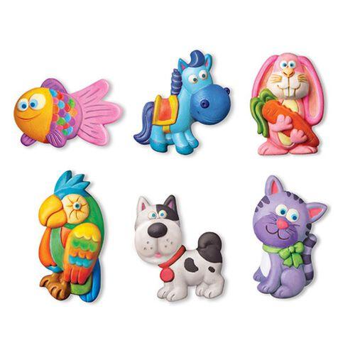 4M Cute Pets Mould & Paint Crafts