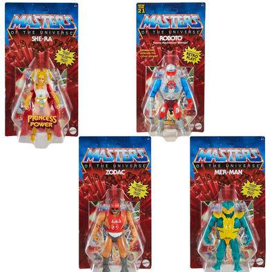Masters of the Universe Origins Dash G Figure Set of 4