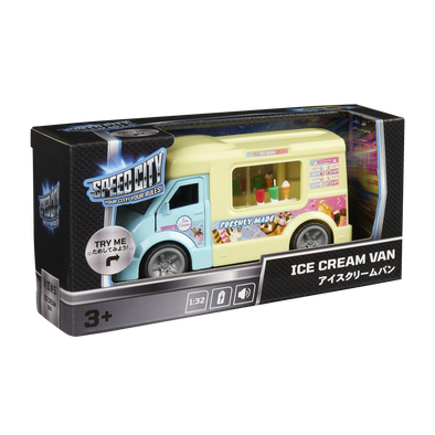 Speed City Ice Cream Van