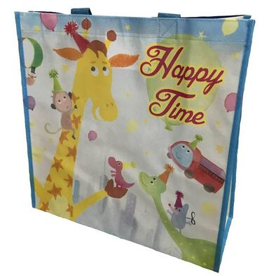 """Toys""""R""""Us Happy Time Reusable Tote Bag"""