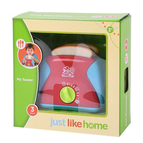 Just Like Home My Toaster 3Pc Set