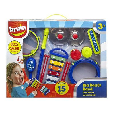BRU Infant & Preschool 15Pcs Music Instruments