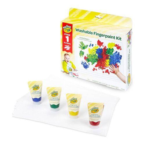 Crayola My First Crayola Washable Fingerpaint Kit