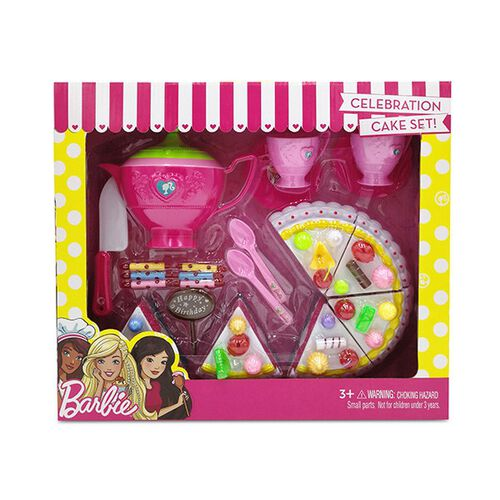 Barbie Celebration Cake Set