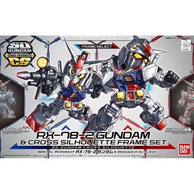 Gundam Bd* -1400 Sd Gundam Cross Silhouette Rx-78-2  & Cross Silhouette Frame Set