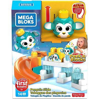 Mega Bloks First Builders Peek A Blocks Penguin Slide