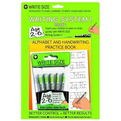 Write Size Writing Pad 1 Set