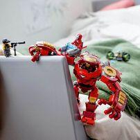 LEGO Marvel Super Heroes Iron Man Hulkbuster Versus A.I.M Agent 76164