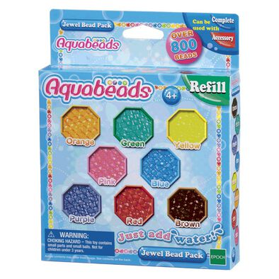 Aqua Beads Jewel Bead Refill Pack
