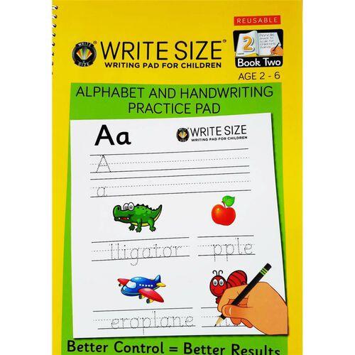 Write Size Write Pad Book 2