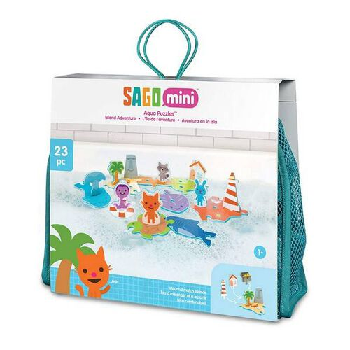 Sago Mini Bath Toys Foam Island